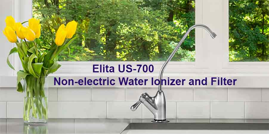 alkaviva elita undersink water filter
