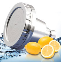 dechlorination shower filter